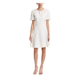 Ted Baker A-Lined Embellished Dress